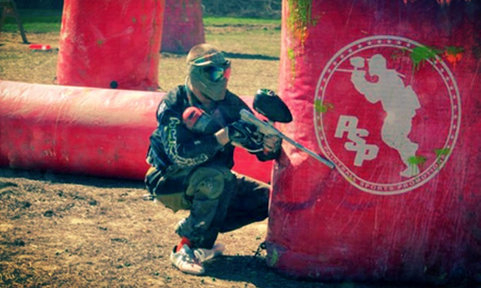 Central Alabama Paintball - Alabaster-Helena: Four Hours of Paintball with Equipment Rental and Paintballs for 4 or 10 Players at Central Alabama Paintball (51% Off)