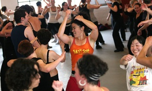 Motion Pacific: 10 or 20 Rhythm & Motion Dance Workout Classes at Motion Pacific (Up to 70% Off)
