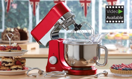 Cooks Professional Die-Cast Stand Mixer for £134.99 With Free Delivery (66% Off)