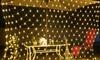 Jeux de lampes grillagées à LED