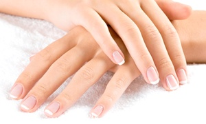 Jj Nails & Spa: One or Two Gel Manicures with Paraffin Treatments and Hot-Oil Hand Massages at JJ Nails & Spa (Up to 51% Off)