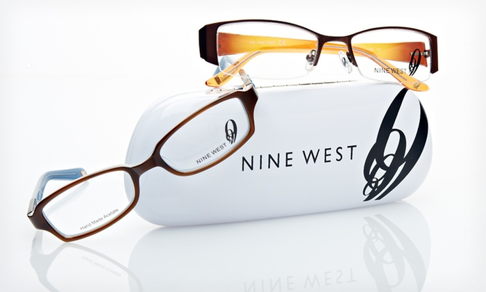 Nine West Women's Eyeglasses: $19.99 for Nine West Women's Eyeglasses (Up to $186 List Price). 21 Styles Available. Free Shipping and Returns.