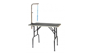Go Pet Club Pet Dog Grooming Table with Leash Arm