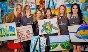 Wine and Design, Culpeper: BYOB Painting Class at Wine and Design Culpeper (29% Off)