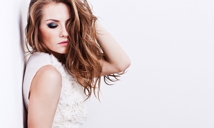 Haircut and Style with Optional Partial or Full Highlights at Bang! The Salon (Up to 64% Off)