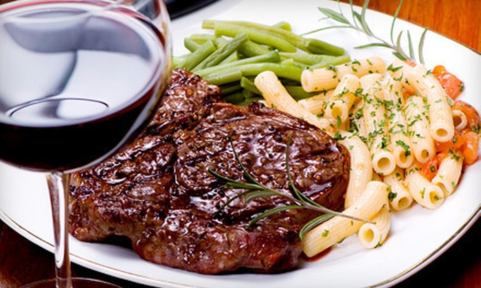 Nugent's Firegrille - Miramar Ranch North: $25 Worth of Seafood and Steak