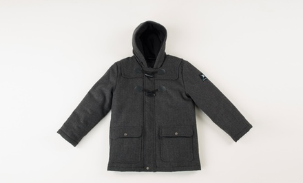 Big Chill Boys' Wool Toggle Coat.