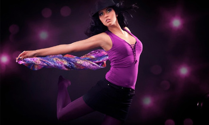 Vertical Tease of Durham - Durham: 6 or 12 Burlesque, Pole, Zumba, Aerobics, or Belly-Dance Classes at Vertical Tease of Durham (Up to 75% Off)