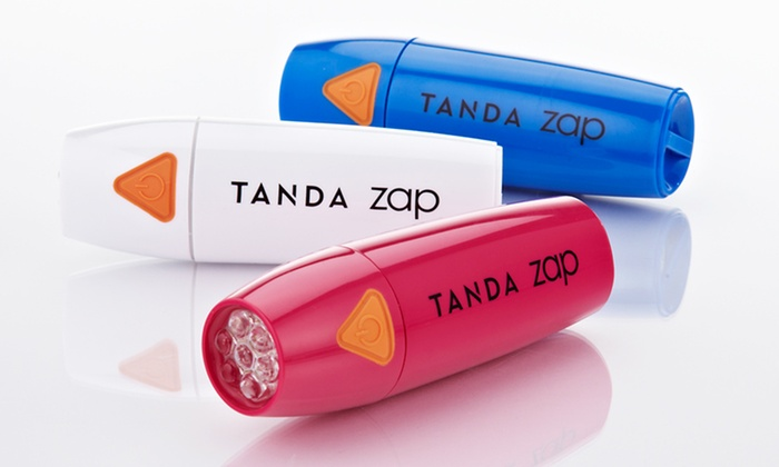 Tanda Zap Acne Spot-Treatment Device: $25.99 for a Tanda Zap Acne Spot-Treatment Device in Blue, Pink, or White ($49 List Price). Free Shipping and Returns.