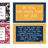 Set of 2 Bible Verse Spiritual Wall Decals