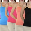 6-Pack of Women's Seamless Camisoles