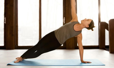 10 or 20 Yoga Classes at Buddha B Yoga (Up to 78% Off)