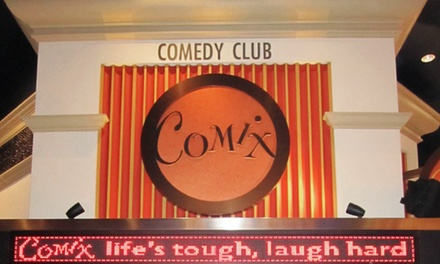 Standup-Comedy Show for Two with Drinks at Comix At Foxwoods Comedy Club (Up to 53% Off)