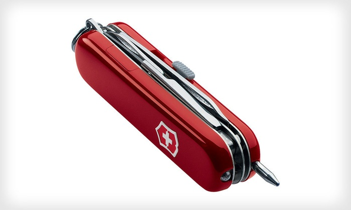Swiss Army Knife Groupon Goods