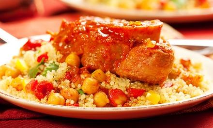 Saveurs orientales avec couscous kabyle et thé à la menthe pour 2, 4 ou 6 personnes dès 24 € au restaurant La Kabylie
