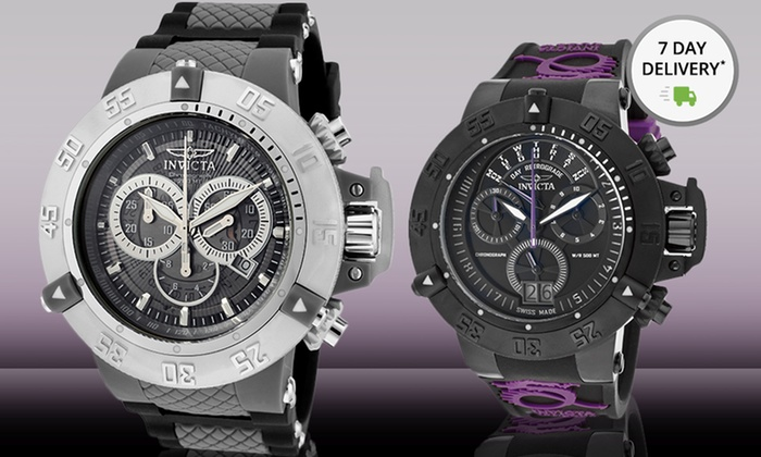 Invicta Men's Subaqua Watches: Invicta Men's Subaqua Watches. Multiple Styles Available. Free Shipping and Returns.