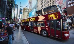 Tour de New York : Pass 1 ou 2 jours en bus à arrêts multiples New York
