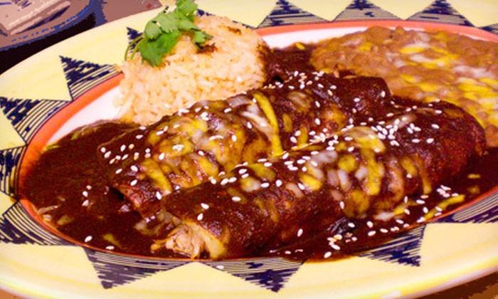 El Amigo - Los Paseos: Mexican Lunch or Dinner for Two or Four at El Amigo (Up to 58% Off)