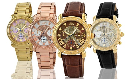 groupon daily deal - JBW Victory Women's Diamond Watch. Multiple Designs Available.