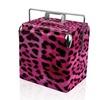 Sainty 13-Quart Pink Leopard Cooler