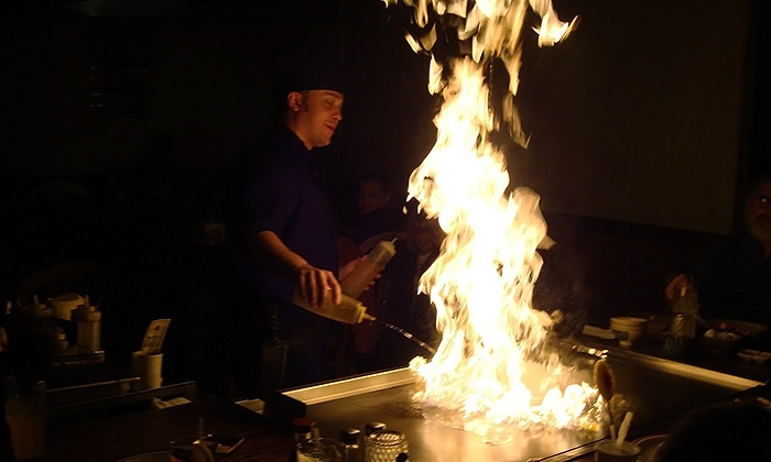 Hibachi Japanese Steakhouse - Multiple Locations: Dinner for Two or Four at Hibachi Japanese Steakhouse (Up to 50% Off). Two Locations Available.