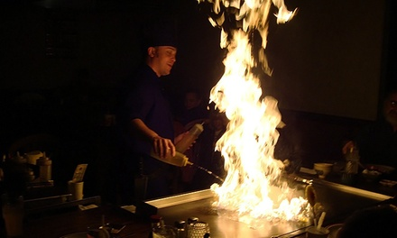 Dinner for Two or Four at Hibachi Japanese Steakhouse (Up to 50% Off). Two Locations Available.