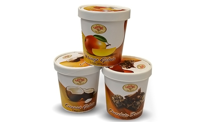 Gelatallo - Multiple Locations: $9.99 for Three Groupons, Each Good for One Pint of Gelato at Gelatallo ($21 Total Value)