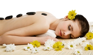 Bright Spa Salon: Hot-Stone Massage or Spa Package with Facial and Massage or Reflexology at Bright Spa Salon (Up to 68% Off)