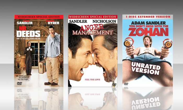 Adam Sandler DVD 3-Pack: Adam Sandler DVD 3-Pack. Free Returns.