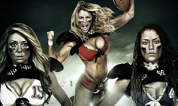 Legends Football League: Calgary Fillies vs. Regina Rage - Southwest Calgary: Legends Football League Game at Stampede Corral on Saturday, September 14 (Half Off). Two Seating Options.