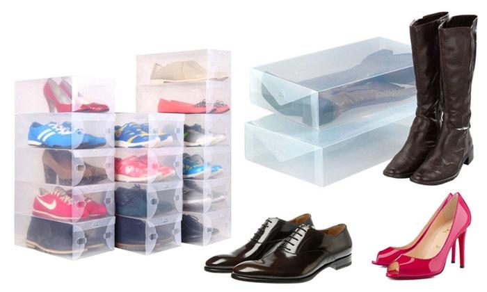 Cajas transparentes para calzado groupon - Cajas transparentes para zapatos ...