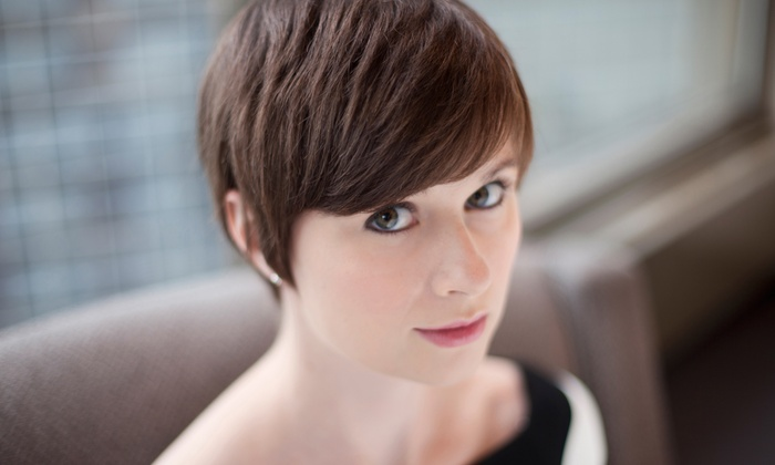 Dana Golden at Posh Salons - Grogan's Mill: Men's Cut or Women's Cut and Condition with Optional Highlights or Color from Dana Golden at Posh Salons (Up to 57% Off)