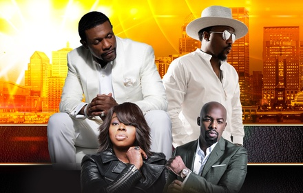 Louisville Soul Music Fest ft. Keith Sweat, Anthony Hamilton, Joe, and More on Saturday, November 9, at 8 p.m.