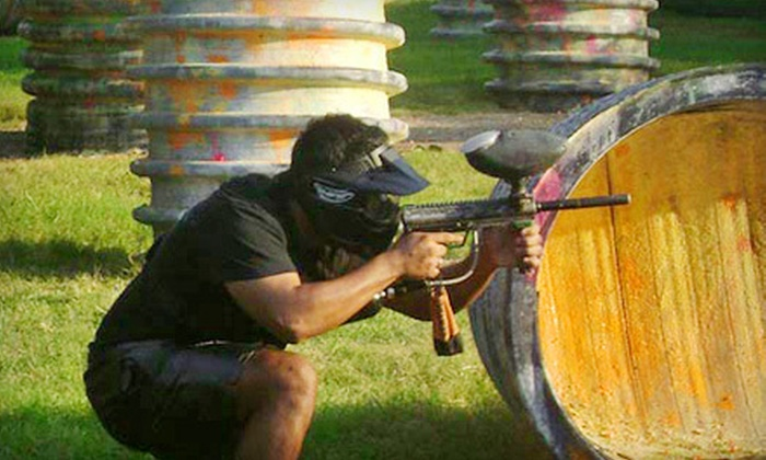 Urban Warzone Paintball - Lawndale/ Wayside: Paintball with Gear, Air, and Paintballs for Two, Four, or Eight at Urban Warzone Paintball (Up to 70% Off)