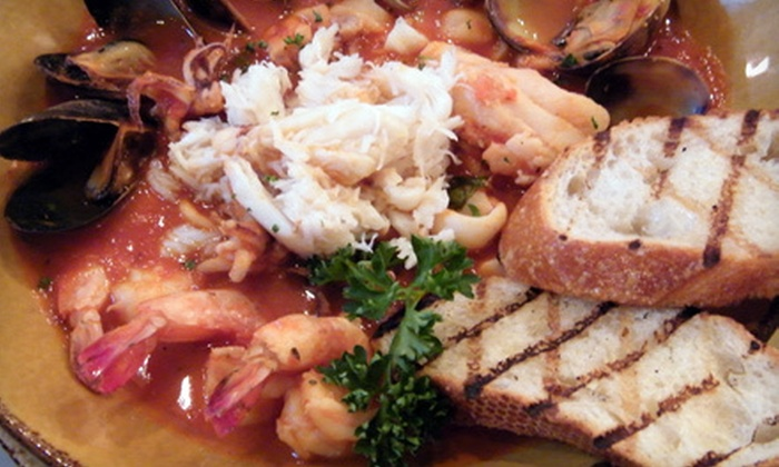 Lou's Fish Shack - Fisherman's Wharf: $19 for $35 Worth of Seafood at Lou's Fish Shack