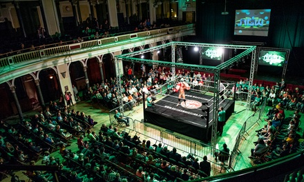 Live Wrestling Show on 23 September at Hull City Hall (Up to 39% Off)