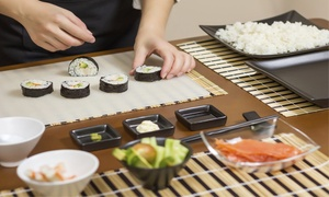 Mariano Moreno Escuela: Desde $179 por clase preparación de sushi + degustación para 1 o 2 en Mariano Moreno Instituto Superior