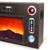 Technical Pro Faux Electric Fireplace Bluetooth Entertainment Center