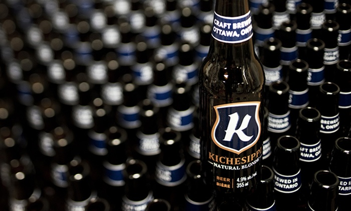 Kichesippi Beer Co. - Carlingwood West - Glabar Park - McKellar Heights: C$22 for a Tour and Tasting at Kichesippi Beer Co. (C$36 Value)