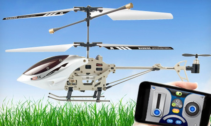 UNORTH: $32 for a Mota iPhone-Controlled Helicopter ($129.99 List Price). Free Shipping.