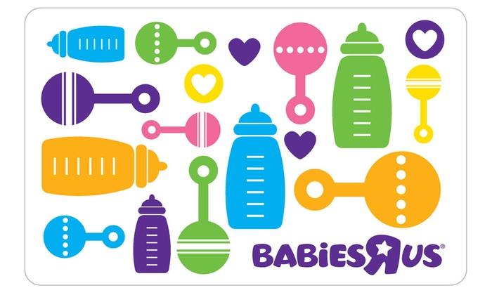 25 egift card to babies r us 5 back in groupon bucks - Babies R Us Egift Card
