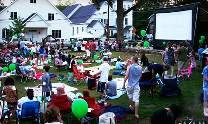 Southern Outdoor Cinema - Atlanta: 10- or 15-Foot Outdoor Movie-Screen Rental from Southern Outdoor Cinema (Up to 56% Off)