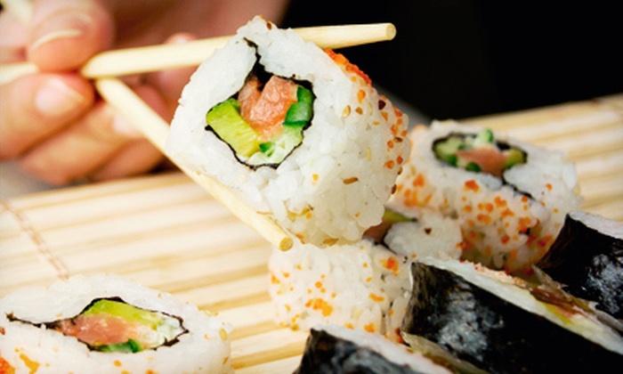 Honmachi Sushi & Teppanyaki - Chandler: $15 for $30 Worth of Japanese Dinner at Honmachi Sushi & Teppanyaki in Chandler