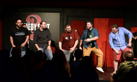 Anti-Cooperation League Improv for Two at Sacramento Comedy Spot Through October 24 (Up to 50% Off)