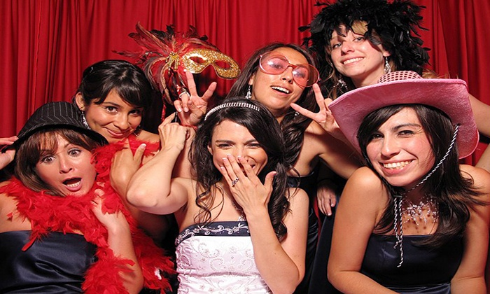 Elegant Engagements - Rockaway: Basic Photo-Booth Rental or Social- or Red-Carpet-Booth Rental from Elegant Engagements (Up to 63% Off)