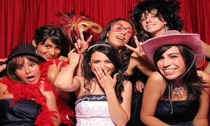 Elegant Engagements: Basic Photo-Booth Rental or Social- or Red-Carpet-Booth Rental from Elegant Engagements (Up to 63% Off)