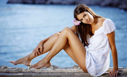 Women's Brazilian or Half-Leg Waxes or Men's Full-Back or Chest Waxes at Euro Tans and Spa (Up to 63% Off)