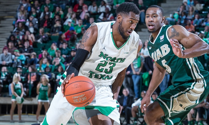 University of North Texas Basketball - Apogee Stadium: University of North Texas Basketball Game Package for Two or Four at UNT Coliseum (Up to 69% Off). Four Games Available.