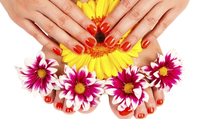 Peter Alexandra Salon - EuropeanChic Nails : Mani-Pedi or Spa Mani-Pedi at Peter Alexandra Salon (Up to 56% Off)