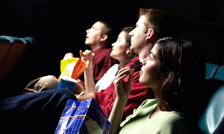 One or Two Groupons, Each Good for a Movie for Two with Two Popcorns at Brea Plaza 5 Cinemas (Up to 41% Off)